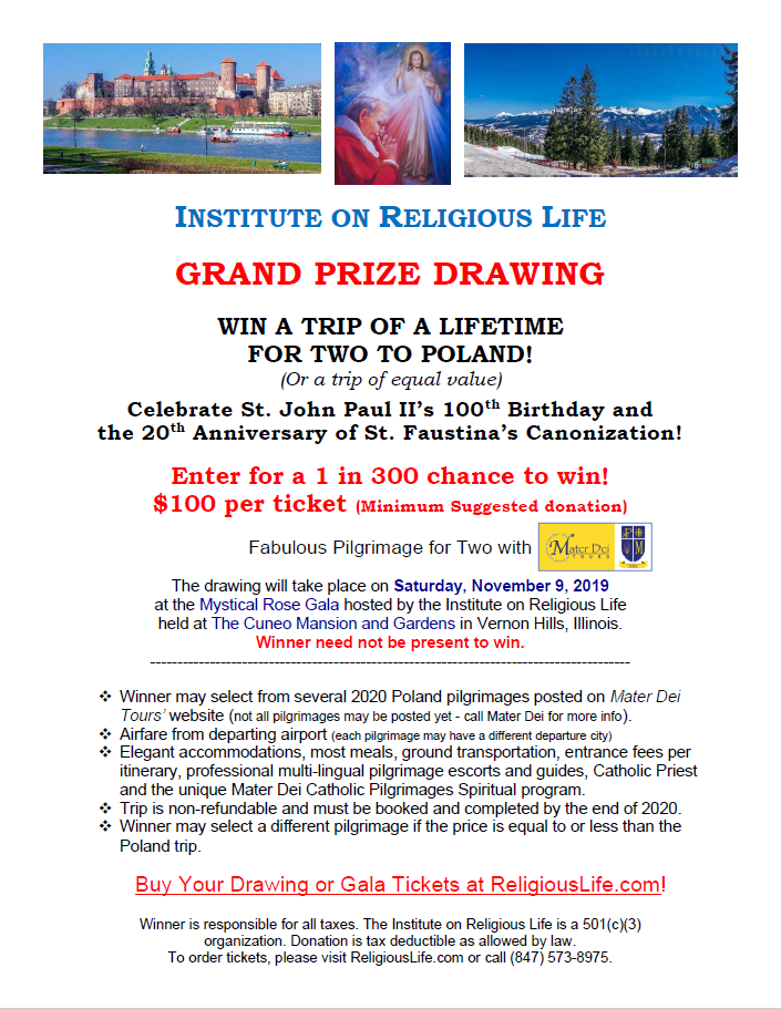 2019 Mystical Rose Gala - Grand Prize Drawing